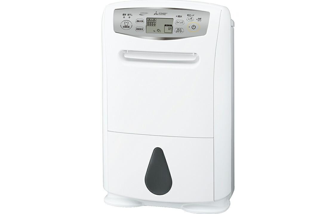 【2021年10月上旬頃入荷予定】衣類乾燥除湿機 三菱電機 MITSUBISHI ELECTRIC MJ-P180SX-W ハイパワータイプ ホワイト コンプレッサー式