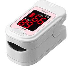 【1~3営業日出荷】 パルスオキシメーター ドリテック dretec 酸素濃度計 ピンク OX-200-PK 医療機器認証番号:229AKBZX00028000