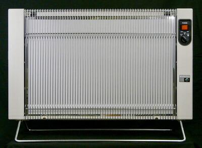 【正規販売店】サンラメラ サンラメラ1221型 ミルキーホワイト 遠赤外線暖房 セラミックヒーター 600W 900W 1200W 6畳〜14畳 日本製 キャスター付き