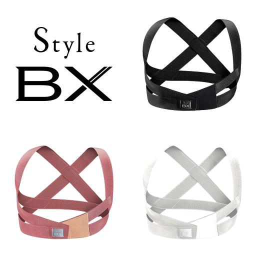 MTG Style BX ブラック/ボーヴピンク/ホワイト S/M/L BS-BX2234 男女兼用 姿勢サポート スタイルBX