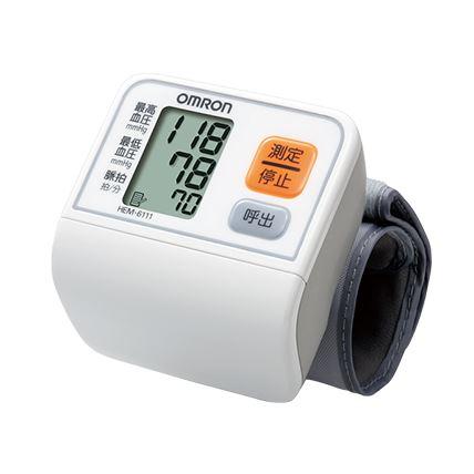 【今だけ100円クーポン有(選択肢参照)】オムロン 手首式血圧計 HEM-6111 OMRON ※通常「ゆうパック」での配送となります