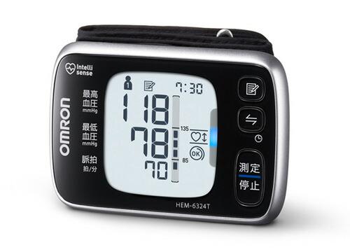 [代引手数料無料] オムロン 手首式血圧計 HEM-6324T OMRON