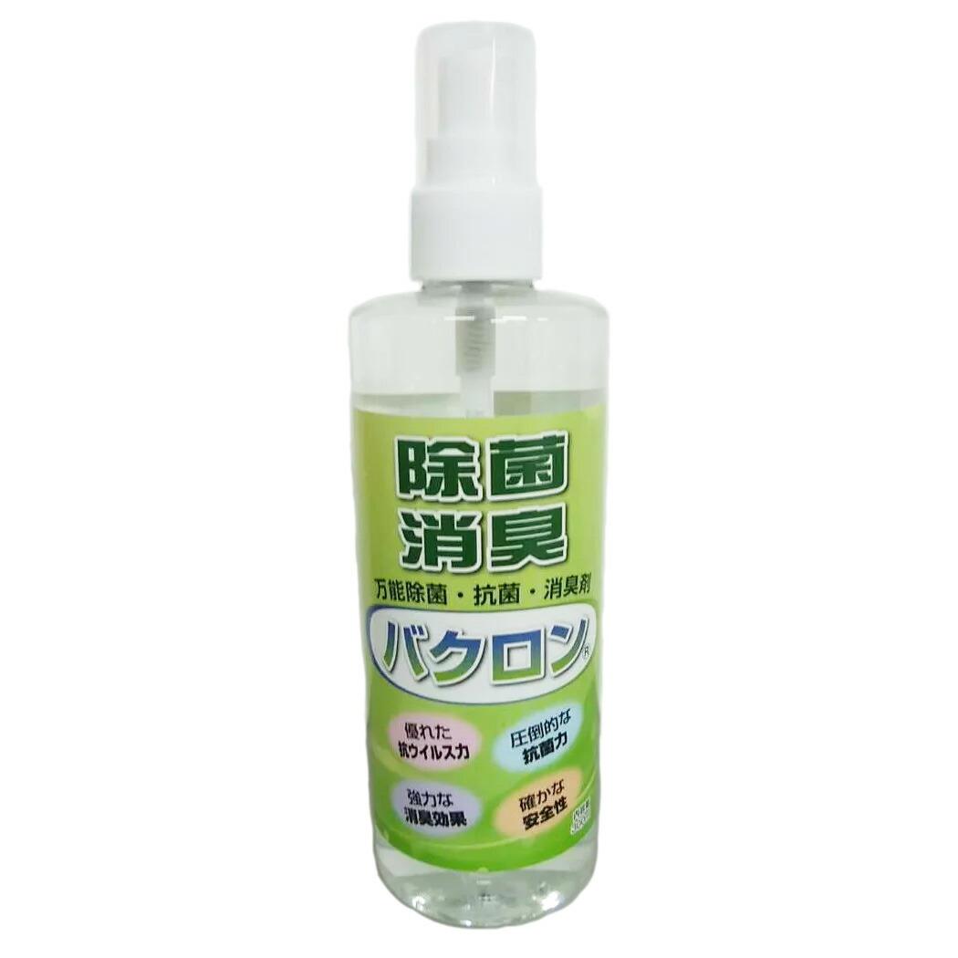 万能除菌抗菌・消臭剤 バクロン 300mlタイプ×12本セット(合計3.6L)
