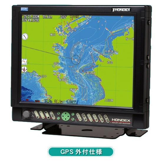 ホンデックス (HONDEX) GPSプロッター HE-152S 15型液晶 【GPS外付仕様】