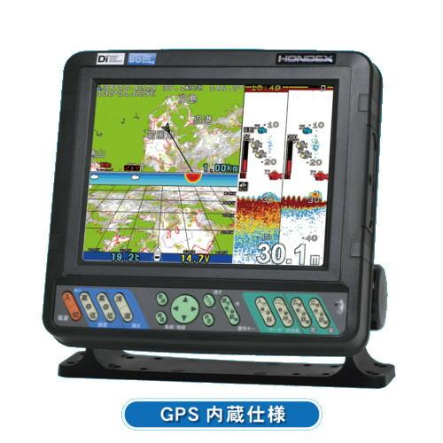 【先払い・代引などで1500円値引あり(選択肢参照)】 ホンデックス (HONDEX) プロッター魚探 HDX-9S 9型ワイド液晶 【GPS内蔵仕様・出力600W】