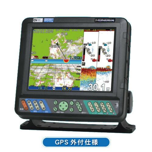 【先払い・代引などで1500円値引あり(選択肢参照)】 ホンデックス (HONDEX) プロッター魚探 HDX-9S 9型ワイド液晶 【GPS内蔵仕様・出力1kW】