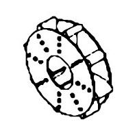 【東京都は送料無料】マルマス機械(細川製作所) MR1901E用部品 脱ぷファン 1G3136-85164【代引き不可】