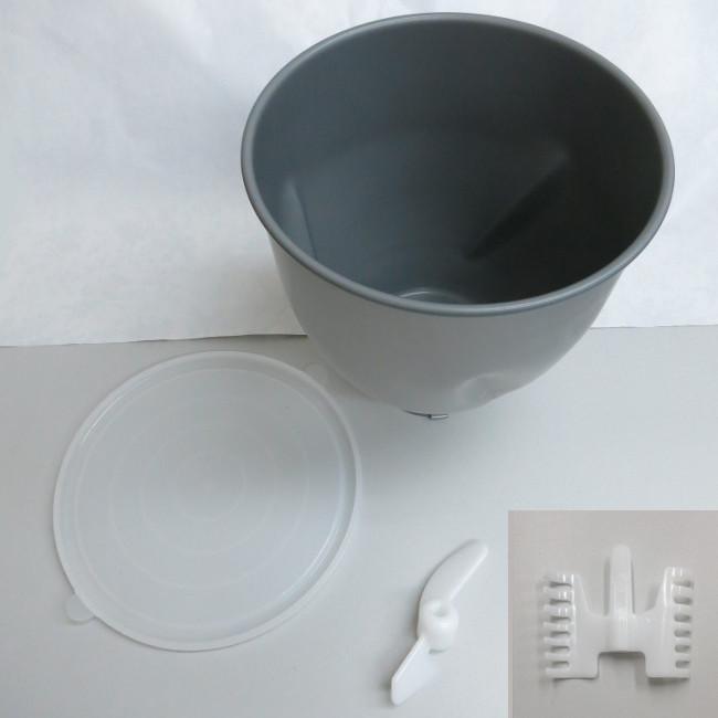 大正電機 KN-1000用ポット一式+KN-200用ケーキ用はねのセット販売(KN-2000用ポット一式)