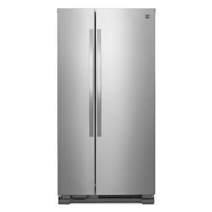 ケンモア(Kenmore) アメリカ大型冷蔵庫(冷凍冷蔵庫) 両開き KRS4113S ステンレス