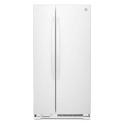 ケンモア(Kenmore) アメリカ大型冷蔵庫(冷凍冷蔵庫) 両開き KRS4113W ホワイト