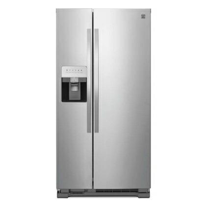 【入荷未定】ケンモア(Kenmore) アメリカ大型冷蔵庫(冷凍冷蔵庫) 両開き KRS5175S ステンレス