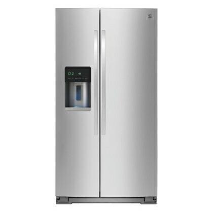 ケンモア(Kenmore) アメリカ大型冷蔵庫(冷凍冷蔵庫) 両開き KRS5176S ステンレス