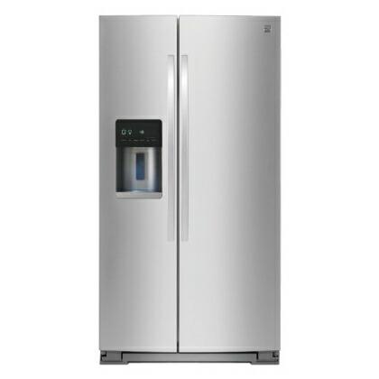 【入荷未定】ケンモア(Kenmore) アメリカ大型冷蔵庫(冷凍冷蔵庫) 両開き KRS5178S ステンレス