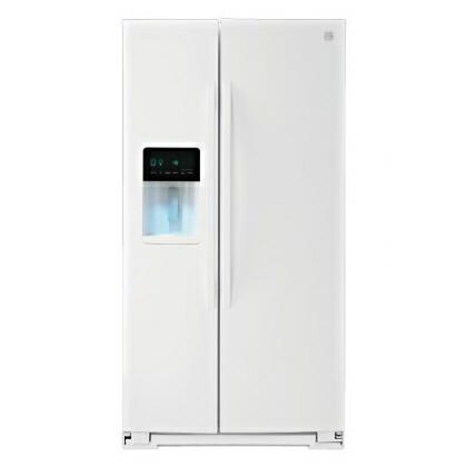 ケンモア(Kenmore) アメリカ大型冷蔵庫(冷凍冷蔵庫) 両開き KRS5178W ホワイト