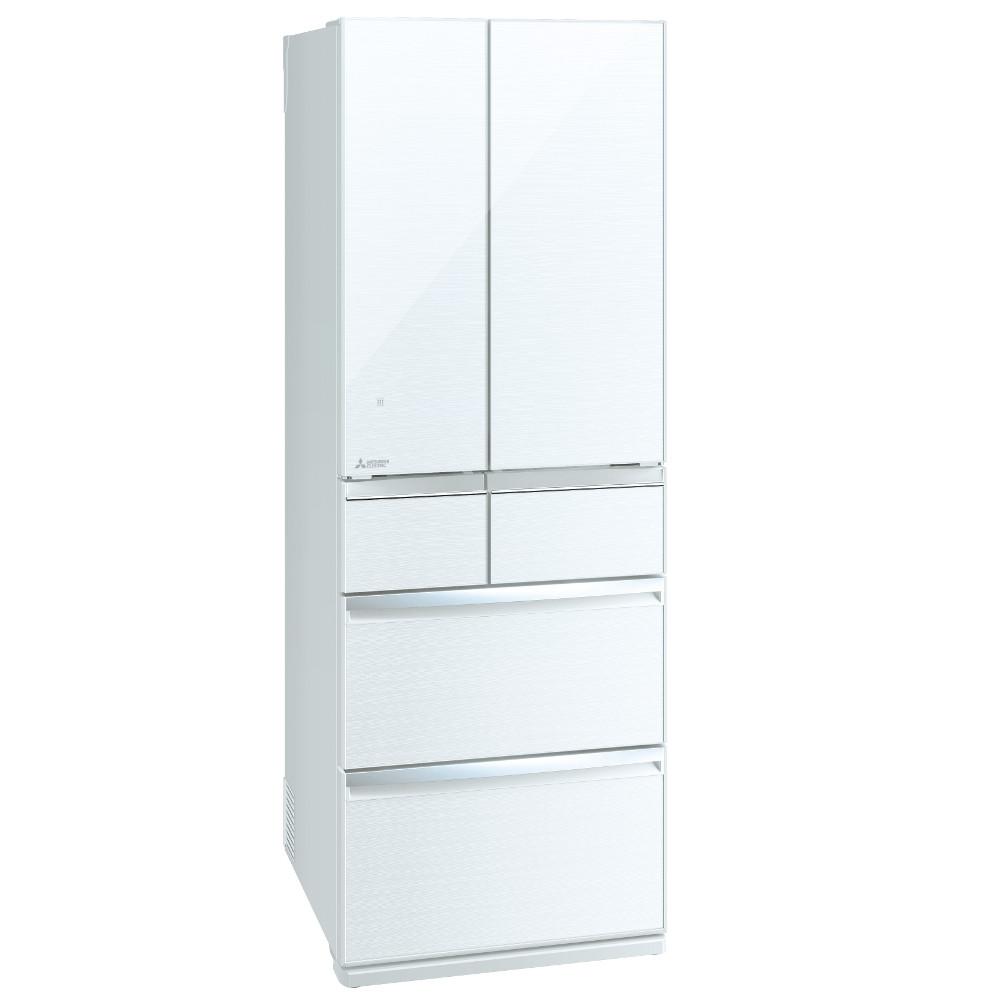 【販売終了】【銀行振込で値引あり】[関東は設置付き送料無料]三菱電機 MITSUBISHI ELECTRIC 冷蔵庫 スマート大容量WXシリーズ MR-WX52F-W クリスタルホワイト 517L 高さ1,821mm