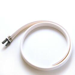 【送料無料(代引き除く)】マルチピュア浄水器 取付ソケット付き給水ホースダブル(80cm) F-H08(アクアドームMPAD用)