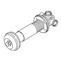 リンナイ FOT-084K(φ35用・壁厚140~300mm) ガスFF暖房機RHF-309FT・RHF-559FT・RHF-561FT用給排気トップ