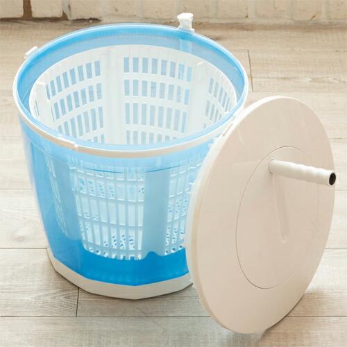 【2020年10月中旬頃入荷予定】ベルソス(VERSOS) VS-H015 手動式ミニ洗濯・脱水機 極洗エコスピンウォッシャー