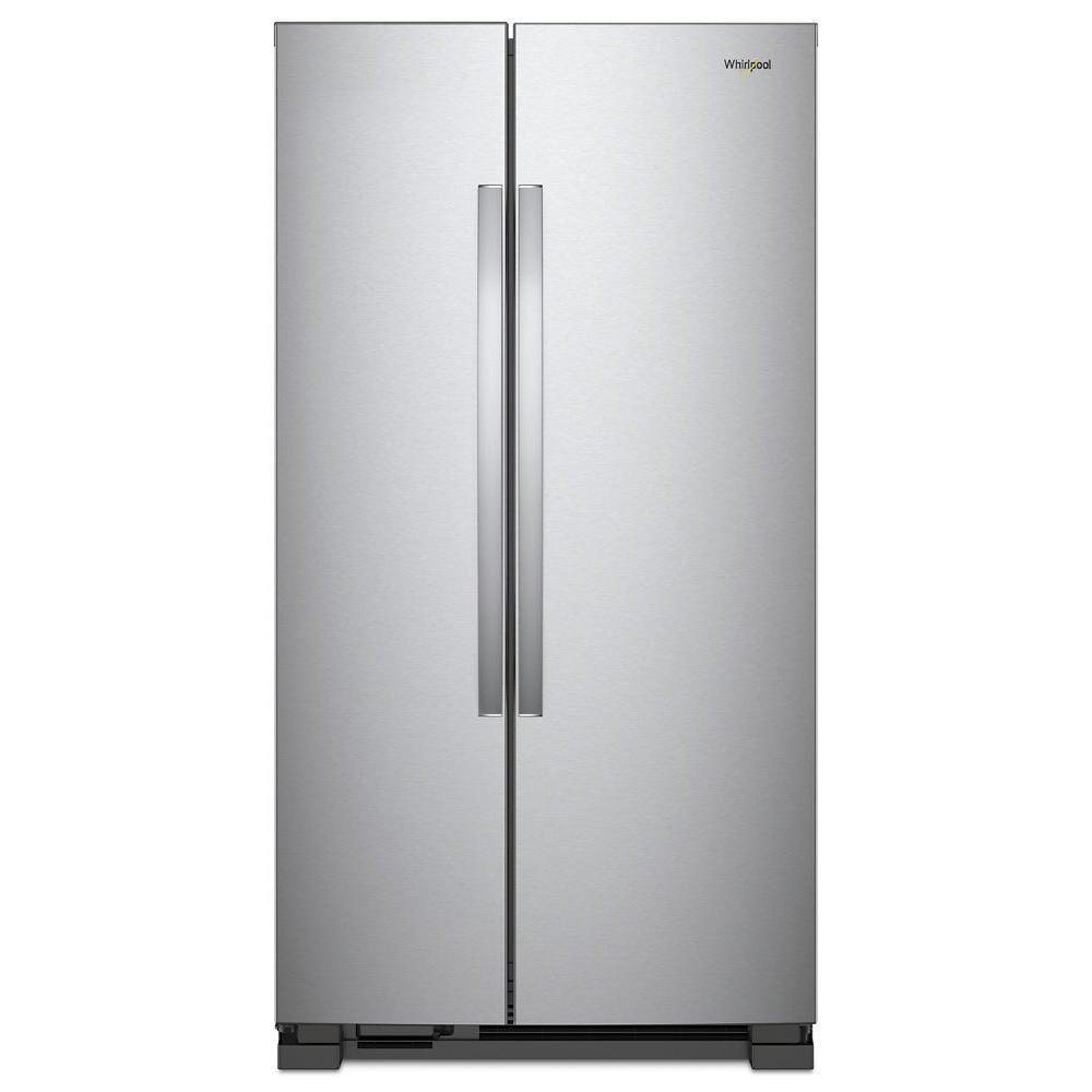 【売価お問合せ下さい】ワールプール/Whirlpool アメリカ大型冷蔵庫(冷凍冷蔵庫) 両開き WRS312SNHM ステンレス