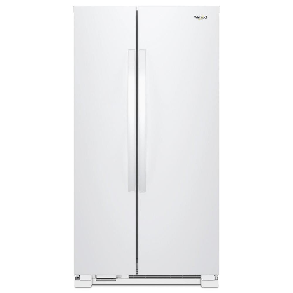【売価お問合せ下さい】ワールプール/Whirlpool アメリカ大型冷蔵庫(冷凍冷蔵庫) 両開き WRS312SNHW ホワイト