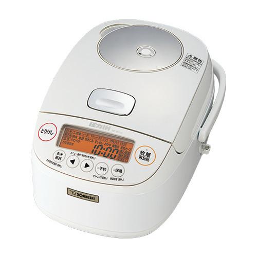 象印 圧力IH炊飯ジャー 極め炊き NP-BH18-WA ホワイト