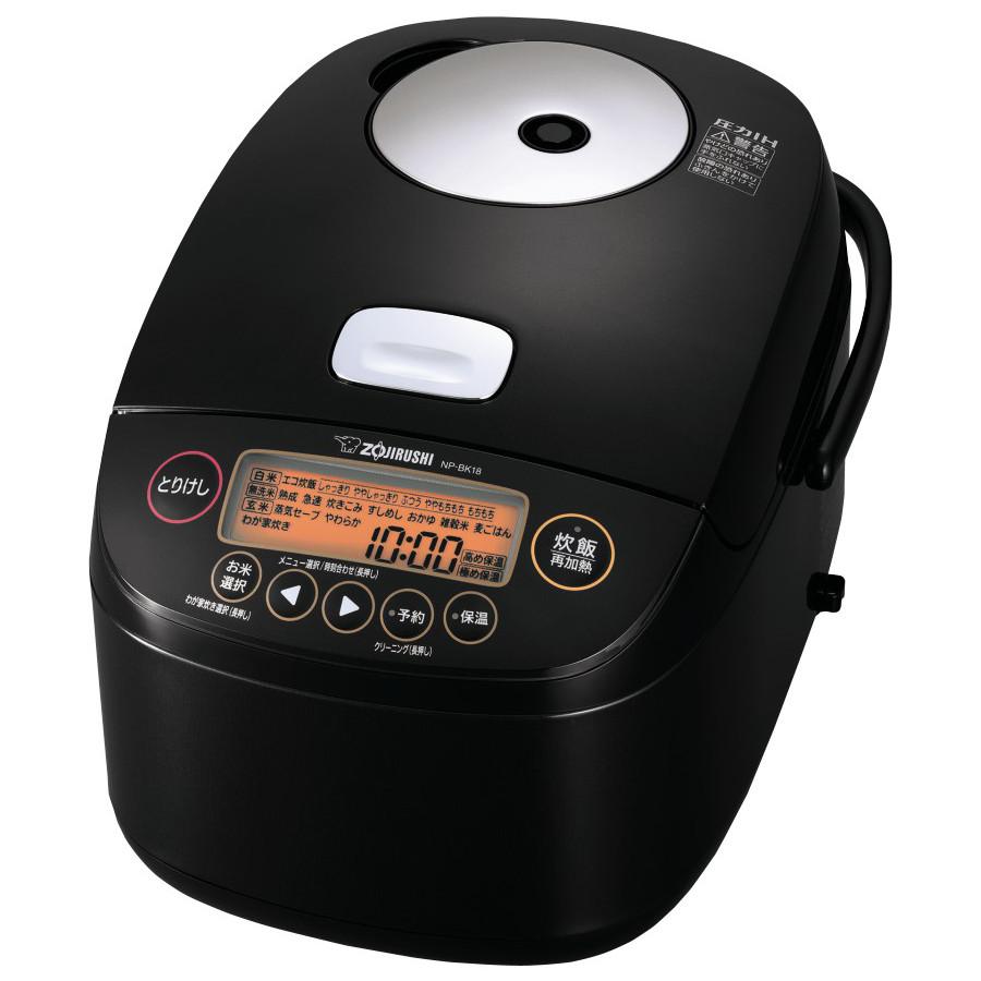 象印 圧力IH炊飯ジャー 極め炊き NP-BK18-BA ブラック