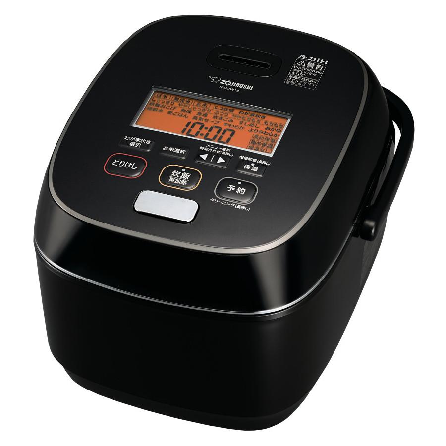 象印 圧力IH炊飯ジャー 極め炊き NW-JW18-BA ブラック