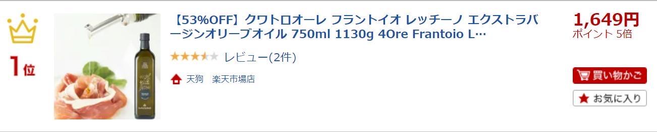 【祝】2020.6.24 楽天リアルタイムランキング獲得!
