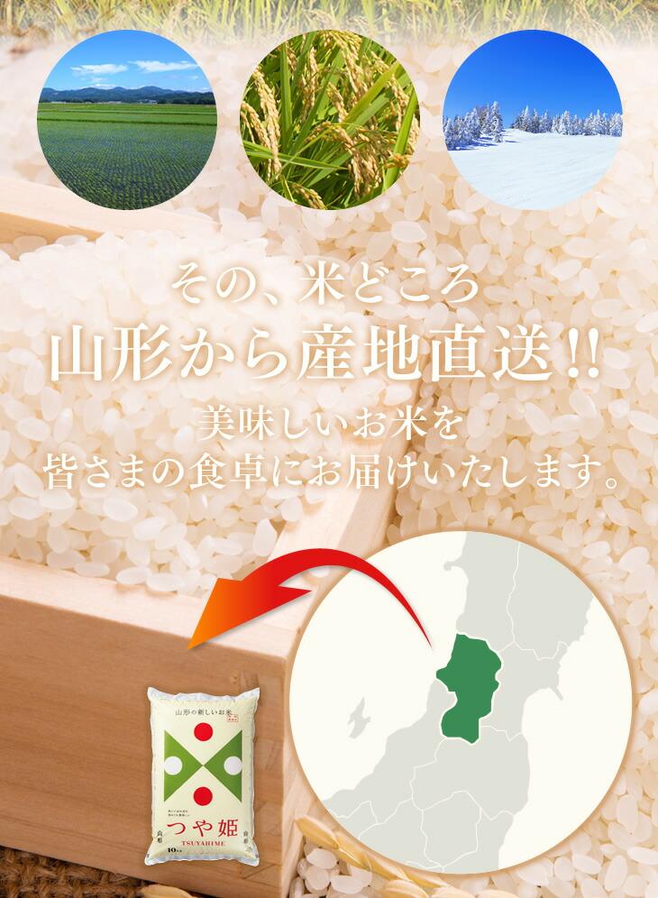 その、米どころ山形から産地直送!! | 美味しいお米を皆さまの食卓にお届けいたします。