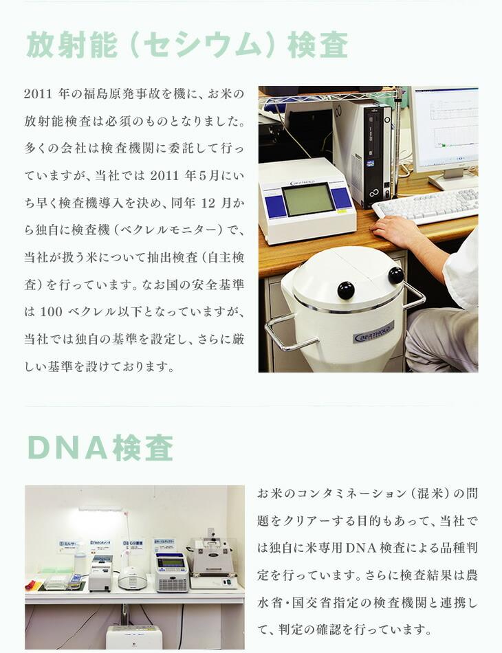 放射能(セシウム)検査 | DNA検査