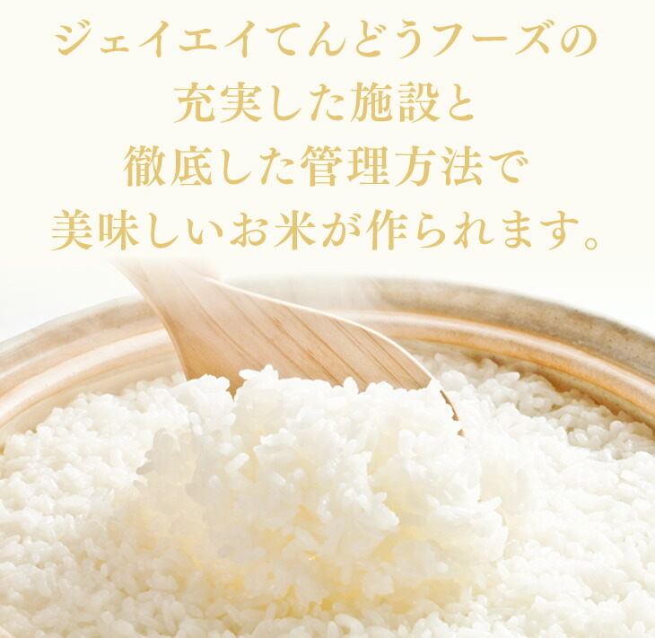 ジェイエイてんどうフーズの充実した施設と徹底した管理方法で美味しいお米が作られます。