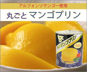 丸ごとマンゴプリン缶詰