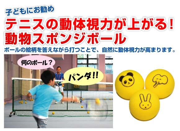 子供はもちろん、大人もこれで楽しくトレーニング!動体視力を鍛えるのに役立つ動物柄スポンジボール♪