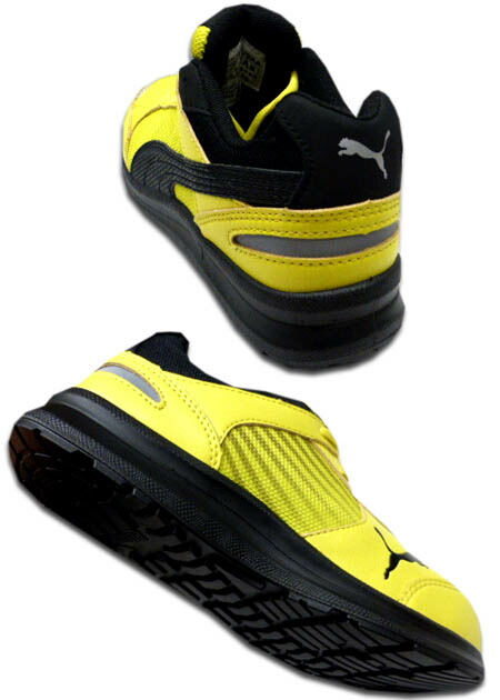 selling by subscription  safety boots security sneakers  free shipping  PUMA  SAFETY Puma safety shoes Sprint Yellow Low sprint yellow low No. 9aa477511