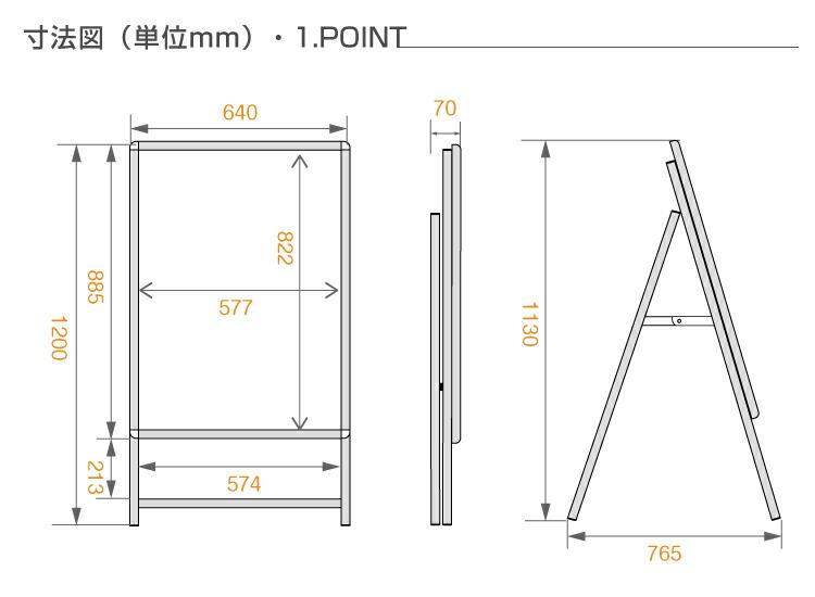 LED看板A型パネル看板