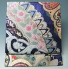 リサイクル着物天陽の袋帯 百花更紗模様 正絹 振袖向き ★送料無料