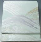【新品 芯入れ 仕立て上り】夏物 袋帯 西陣織 紗 (5) 野辺花模様 正絹 (日本製)★送料無料