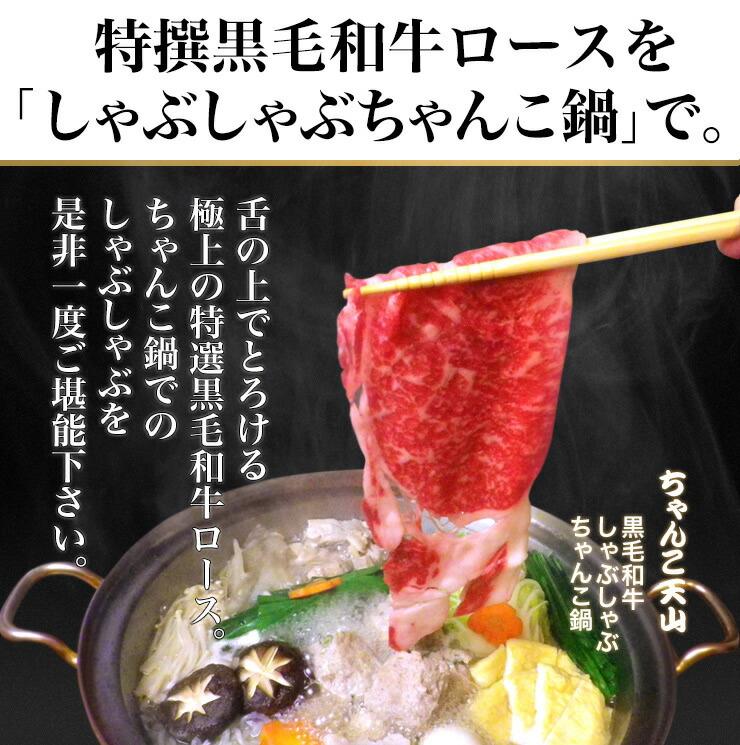 旨味あふれる自家製肉つみれ!天山ちゃんこ鍋