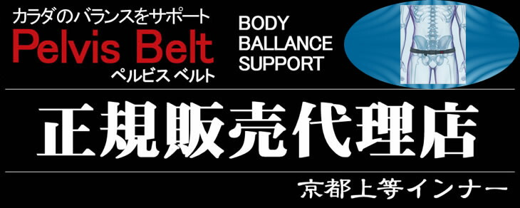 京都上等インナーは「ペルビス ベルト(Pelvis Belt) No.PB-001」 骨盤ベルトの正規販売代理店です。安心してお求め下さい。