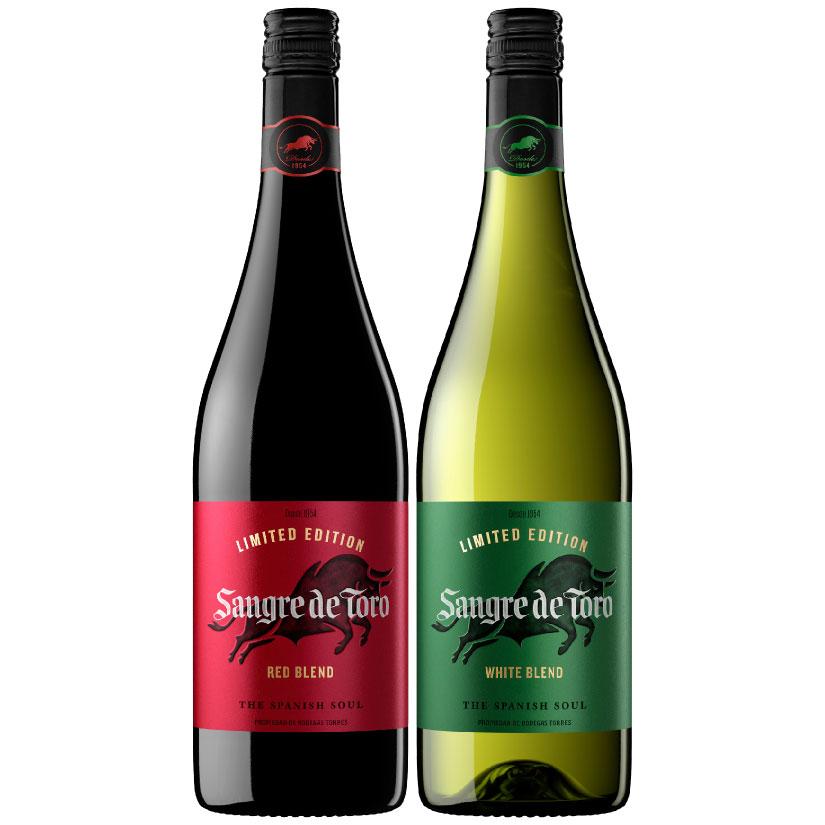 サングレ デ トロ リミテッドエディション 赤・白ワイン 2本セット BOX入り