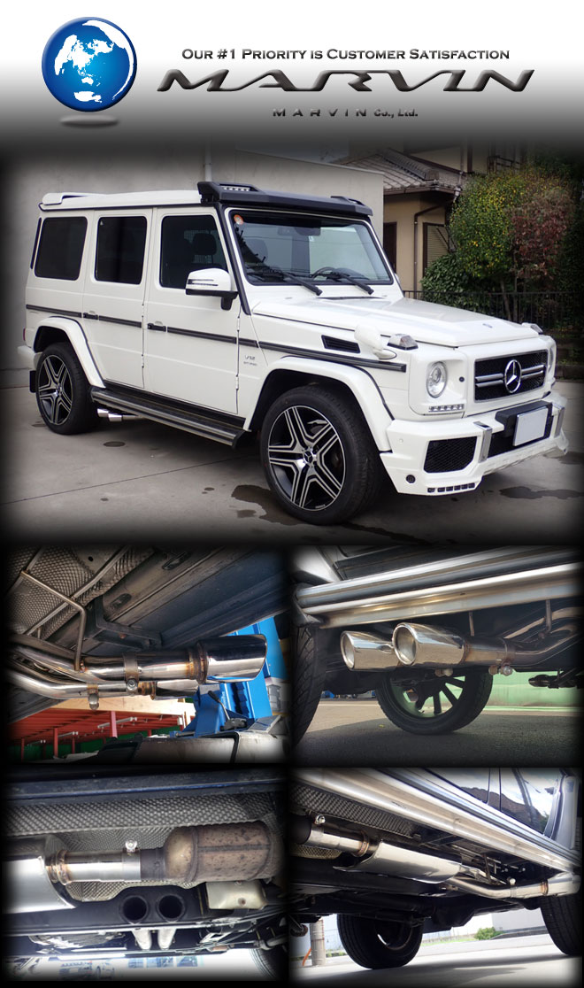 MARVIN マフラー BENZ G-Class W463