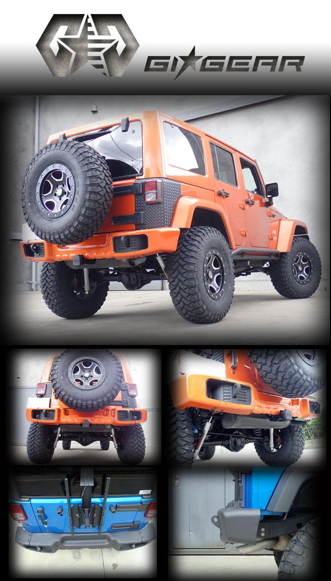 GIG リアバンパー Jeep WRANGLER JK