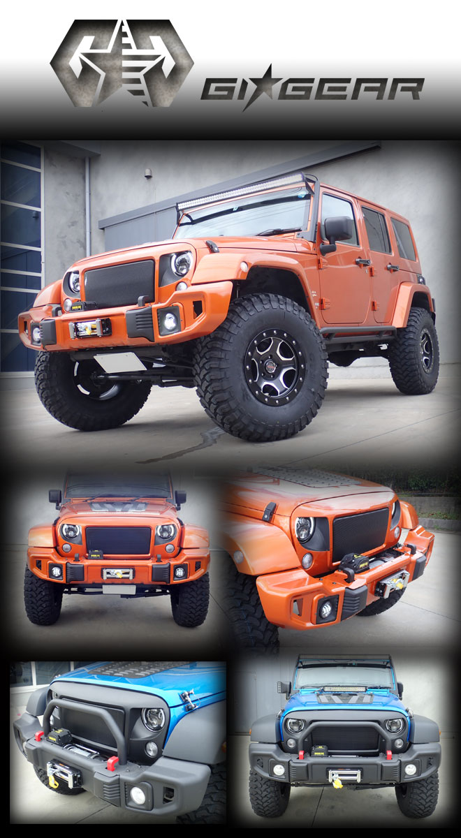 GIG フロントバンパー Jeep WRANGLER JK