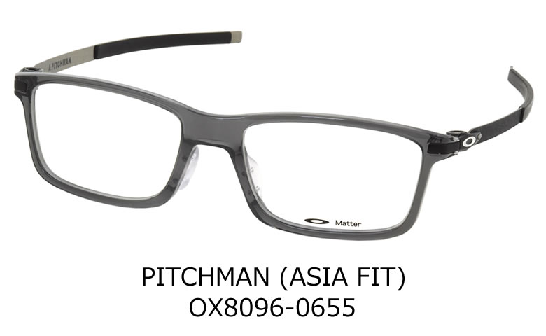 Optical Shop Thats: -OAKLEY glasses OX8096-0655 PITCHMAN ASIA FIT ...