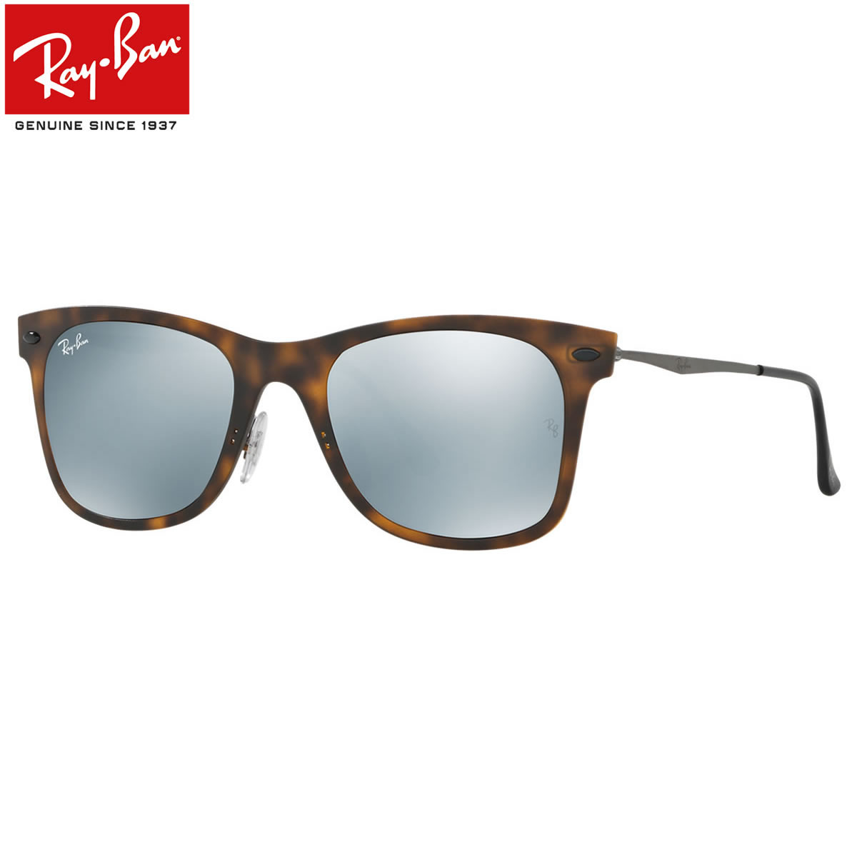 The Wayfarer Light Ray is engrave a new page in the history of the Ray-Ban.  Slim titanium temples joined the iconic Wayfarer front and that is not  design. d2b036d86ee7