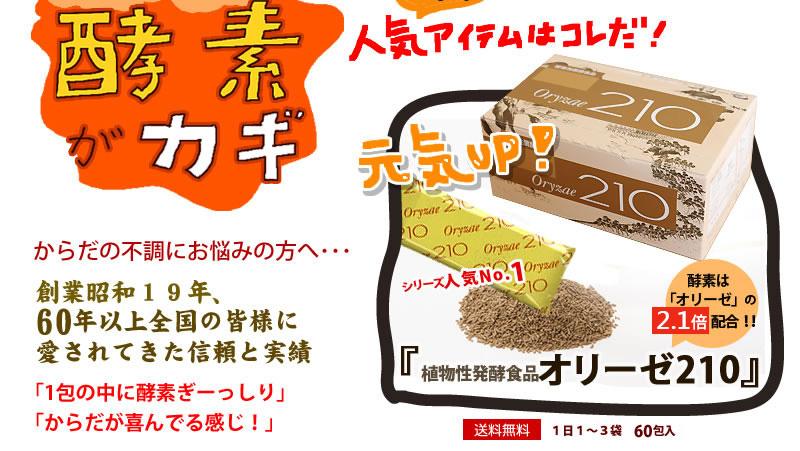 植物性発酵食品オリーゼ210