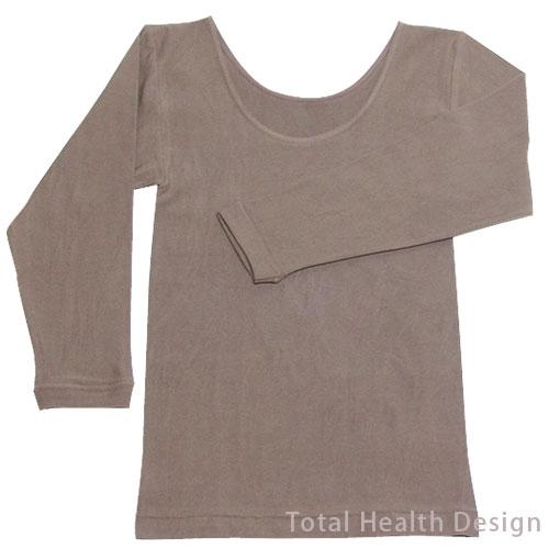 きょらむん天然泥パック 婦人長袖シャツ