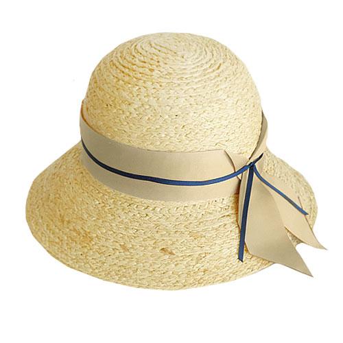 ツバ広 帽子