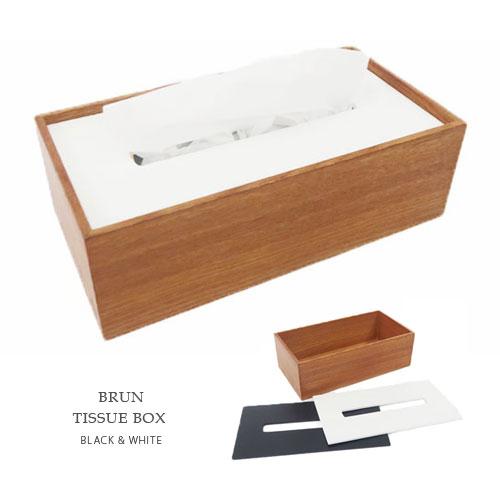BRUN ティッシュボックス