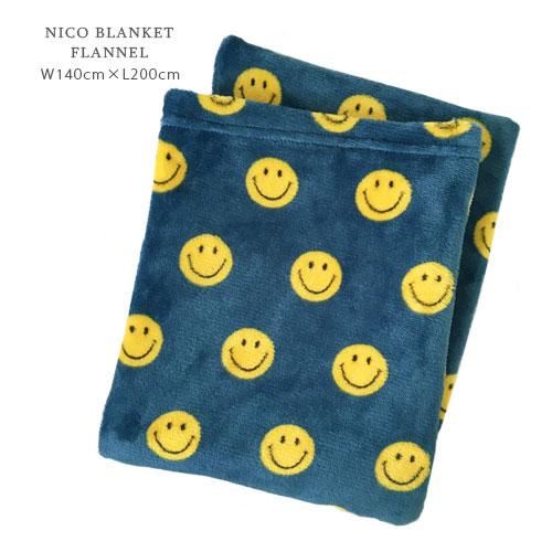NICO ブランケット フランネル ≪Lサイズ≫ 70cm×120cm